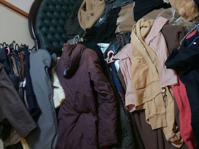洋服整理をしたら、スッキリしました!